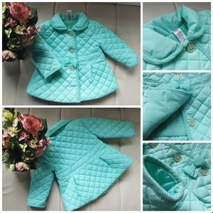 Baby girl fleece jacket cute coat